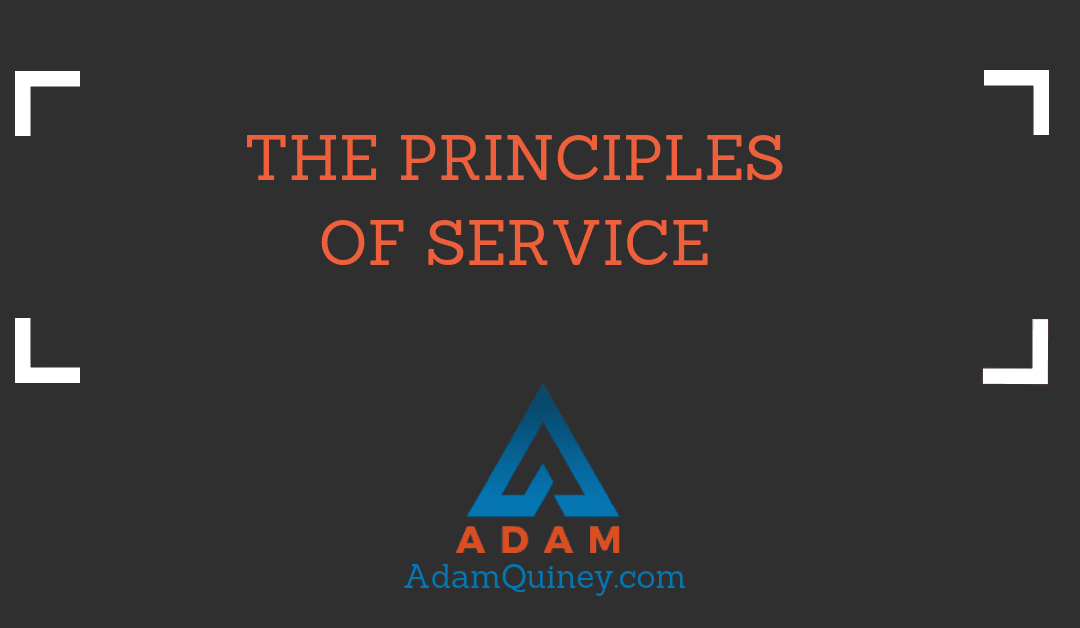 THE PRINCIPLES OF SERVICE