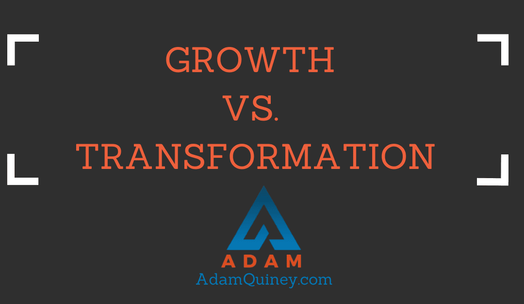Growth vs. Transformation