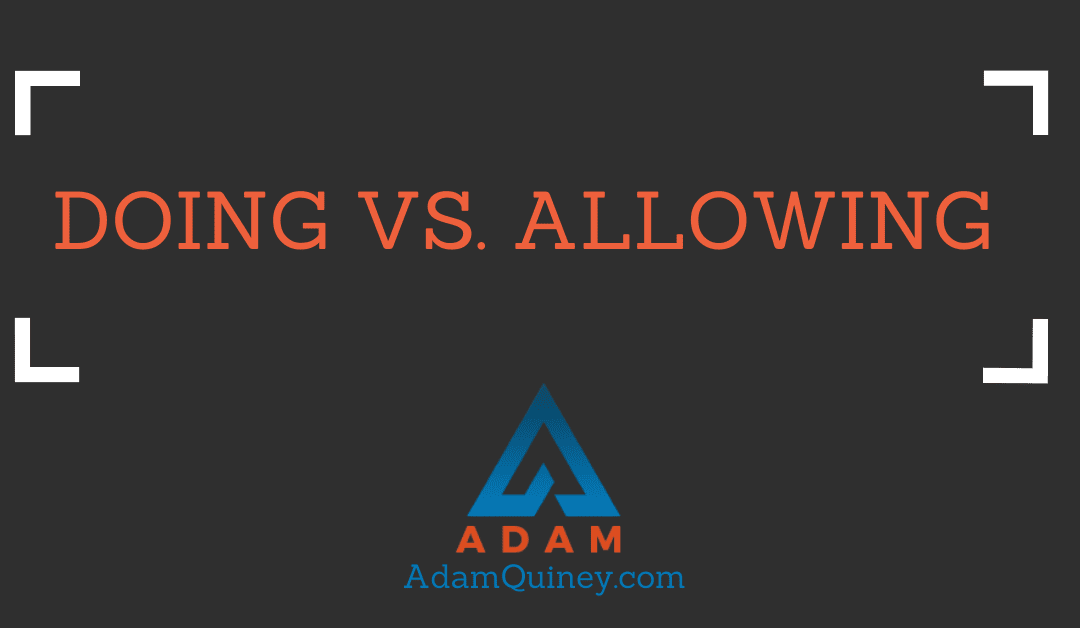 Doing vs. Allowing